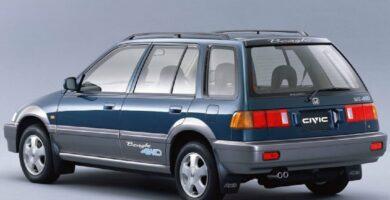 Catalogo de Partes CIVIC SHUTTLE HONDA 1995 AutoPartes y Refacciones