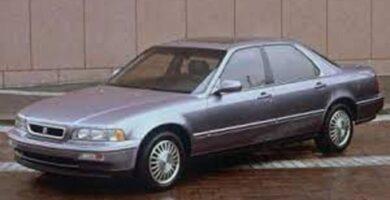 Catalogo de Partes LEGEND HONDA 1995 AutoPartes y Refaccione