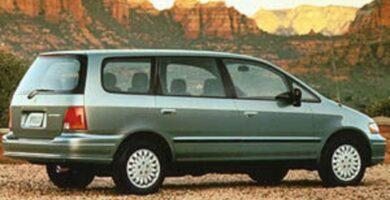 Catalogo de Partes ODYSSEY HONDA 1996 AutoPartes y Refacciones
