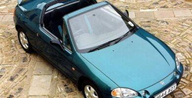 Catalogo de Partes CIVIC CRX HONDA 1997 AutoPartes y Refacciones