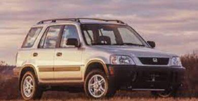 Catalogo de Partes CR-V HONDA 1997 AutoPartes y Refacciones