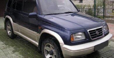 Catalogo de Partes SUZUKI VITARA 1997 AutoPartes y Refacciones
