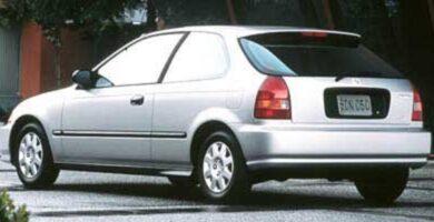 Catalogo de Partes CIVIC 3 PUERTAS HONDA 1998 AutoPartes y Refacciones