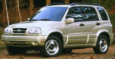 Catalogo de Partes SUZUKI GRAND VITARA 1999 AutoPartes y Refacciones