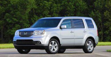Catalogo de Partes PILOT HONDA 2015 AutoPartes y Refacciones
