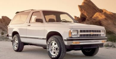 Manual de Usuario CHEVROLET BLAZER 2001 Gratis PDF