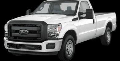 Manual de Usuario FORD SUPER DUTY 2014 en PDF Gratis