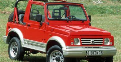 Catalogo de Partes SUZUKI SAMURAI 1995 AutoPartes y Refacciones