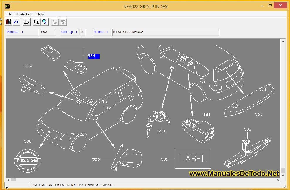 Recambios para Nissan AD Van 2003