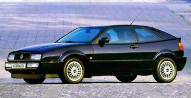 Manual VOLKSWAGEN Corrado 1989 de Reparación GRATIS
