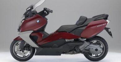 Manual Moto BMW-C 650 GT-2012 de Usuario PDF GRATIS