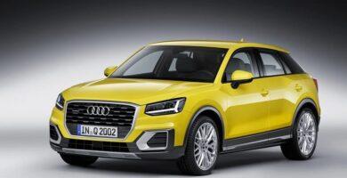 Manual AUDI Audi Q2 2016 de Reparación Descarga GRATIS