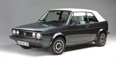 Manual VOLKSWAGEN Golf Mk1 1986 de Reparación GRATIS