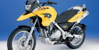Manual Moto BMW-F 650 GS-2007 de Usuario PDF GRATIS