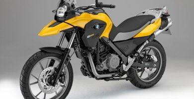 Manual Moto BMW-F 700 GS-2013 de Usuario PDF GRATIS