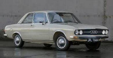 Catálogo de Partes AUDI 100 1971 AutoPartes y Refacciones