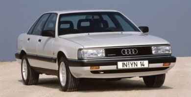Catálogo de Partes AUDI 100 1988 AutoPartes y Refacciones