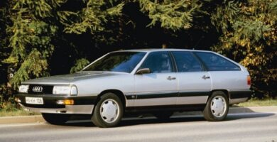 Catálogo de Partes AUDI 100 1990 AutoPartes y Refacciones