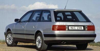 Catálogo de Partes AUDI 100 1993 AutoPartes y Refacciones