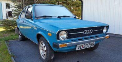 Catálogo de Partes AUDI 50 1976 AutoPartes y Refacciones