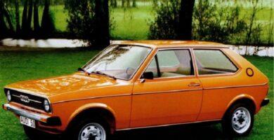 Catálogo de Partes AUDI 50 1977 AutoPartes y Refacciones