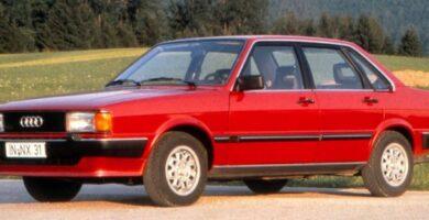 Catálogo de Partes AUDI 80 1980 AutoPartes y Refacciones