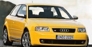 Catálogo de Partes AUDI A3 2001 AutoPartes y Refacciones