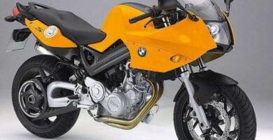 Manual Moto BMW-F 800 S-2006 de Usuario PDF GRATIS