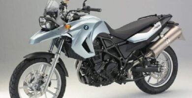 Manual Moto BMW-G 650 GS-2008 de Usuario PDF GRATIS