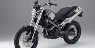 Manual Moto BMW-G 650 Xcountry-2008 de Usuario PDF GRATIS