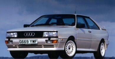 Catálogo de Partes AUDI Quattro 1989 AutoPartes y Refacciones