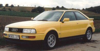 Catálogo de Partes AUDI Quattro 1990 AutoPartes y Refacciones